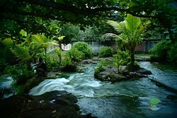 So'a hot spring at the heart of Flores