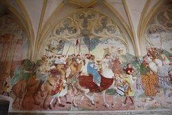 Mediveal frescoes.