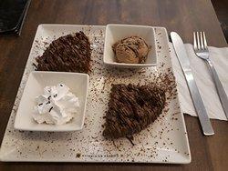 Roasted walnut waffle at Coffee By Di Bella