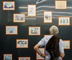 """Ausstellung """"caricatura 7 - Systemfehler"""" (2017)"""