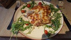 Lasagnes à la truffe...Excellent également !