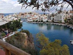 Agios Nikolaos - about 25m walk from the Minos Beach Hotel