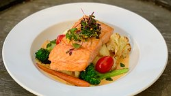 Seared Alaskan Salmon