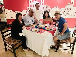 """Mexican night with """"Bruno Mars"""""""