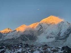 Sunset from Gorak Shep