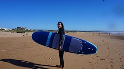 Just me in a surfing day