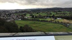 Vistas desde el Castillo de Stirling
