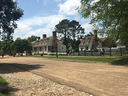 Streets of Colonial Williamsburg