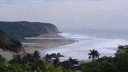 La Bocana, en donde se une el rio Copalita con el mar ! La Bocana, where the Copalita river meets the sea !