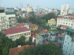 View of Hanoi from room