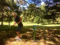 '9 hole' Disc Golf