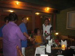 Grand Birthday celebration organised by GM & Staff of Haveli Resort