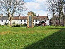 Brunton Green  with memorial