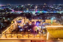 Panoramic View from Sky Bar!