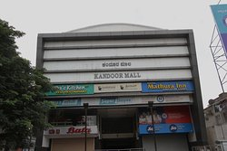 Hotel is on the 3rd floor of Kandoor Mall