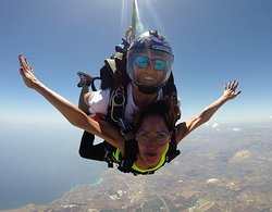 Tandem Jump experience at SkydiveSicilia  No experience and no medical certificate is needed!!  Siracusa and Calatabiano drop zones