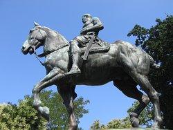 Kaiser Friedrich III Statue