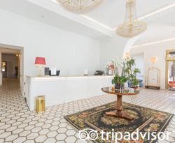 Lobby at the Hotel Milton Roma