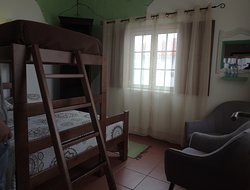 Double room with an extra bed