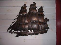 MASS - PALMER - CJ'S #10 - SHIP WALL DECORATION