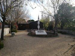 Jardín del museo.
