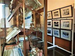 旧事務所棟内展示室