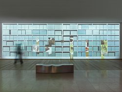 """Ausstellungsansicht """"Die Kunst des Aufbewahrens"""", Draiflessen Collection, Mettingen © Foto: Roman März"""