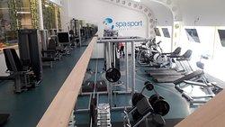 Osan päivää käytössä oleva gym