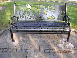 Royal Welch Fusiliers World War 2 Memorial Bench (Wrexham)