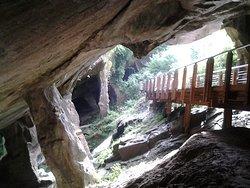 Grotte del Caglieron Entrata