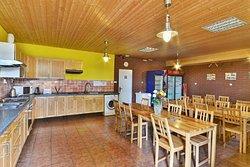 jídelna / kuchyňka pro ubytované