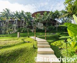 Grounds at the Four Seasons Resort Bali at Sayan
