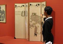 Visite guidée dans les galeries d'exposition du musée des impressionnismes Giverny