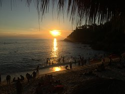 Relax and enjoy sunsets in Carrizalillo after a fun day of surf.