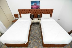 The Red Sea Hotel- Suez is a very convenient newly refurbished hotel in Suez Goverorate  Friendly staff Free WiFi  Very good restaurant serves tasty breakfast, lunch and dinner with wide selection of international cuisines  Amazing view