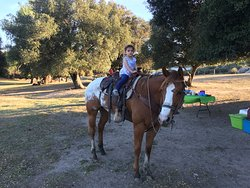 Mi hija con Guacanda