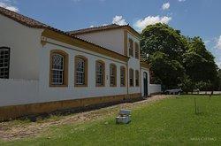 Vista frontal do museu