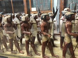 The Egyptian Pikemen in the middle Kingdom Egyptian Museum Cairo