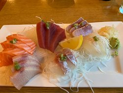 Sushi Dinner - comes with Miso Soup for $29