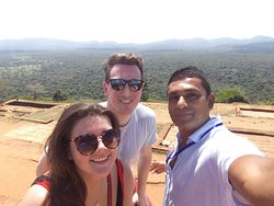 Indnil And he's client top of the lion rock sigiriya