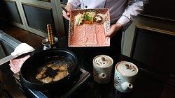 Wagyu A5 sukiyaki don