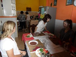 Middag i Margaritas kök