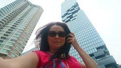 Пиксельный небоскреб в Бангкоке