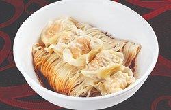 Spicy Shrimp & Pork Wonton Dry Noodle