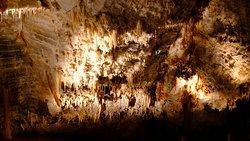 Inneres der Höhle
