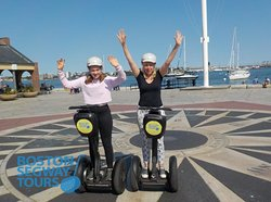Rated⭐⭐⭐⭐⭐on#tripadvisorand the only#tourin#Bostonthat gets #teenagers as excited as the parents to learn some#history!😎www.bostonsegwaytours.net
