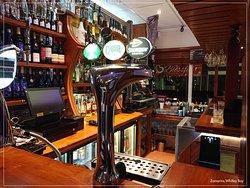 Bar counter at Zamorins