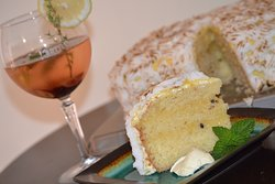 Gin and granadilla cake, to die for!