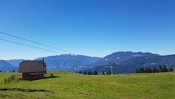 View of the Kamnik-Savinja Alps