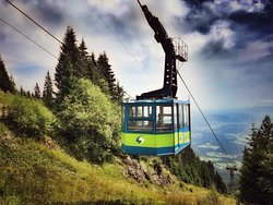 The longest cable car in Slovenia!